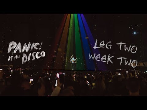 Panic! At The Disco - Pray For The Wicked Winter Tour (Week 2 Recap) - Panic! At The Disco