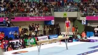 North Korean Athletes-Asian Games 2014-Balance Beam