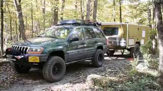 M101 Homebuilt Military Off Road Camping Trailer Overview!