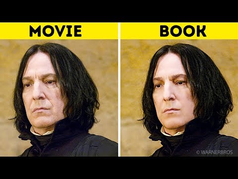 Harry Potter Characters: In the Books Vs. In the Movies