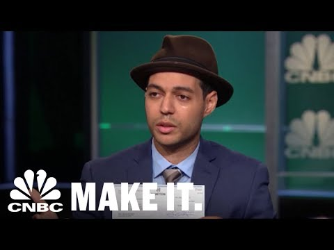 The American Dream: 'Shark Tank' Entrepreneur Weeps When He Gets A $100,000 Check | CNBC Make It.