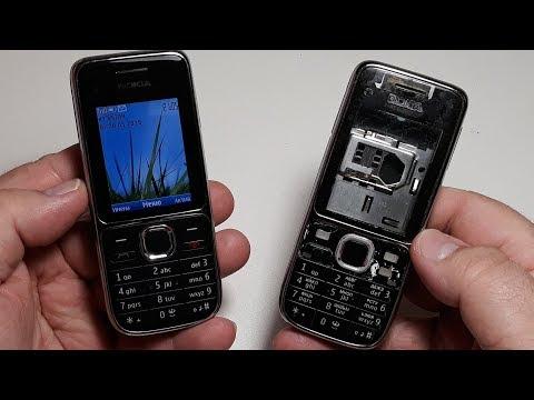 Nokia C2-01. Ремонт и восстановление телефона своими руками. Замена корпуса full