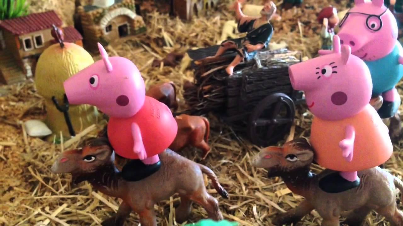 Peppa Pig y sus papás hacen de Reyes Magos