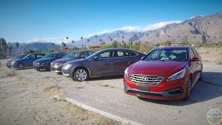 2015 Midsize Sedan Comparison - Kelley Blue Book