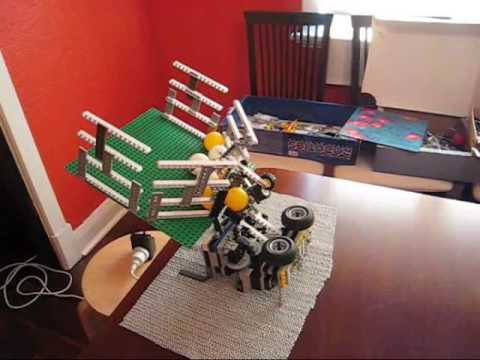 Lego Ping Pong Launcher Serves Its Purpose Well