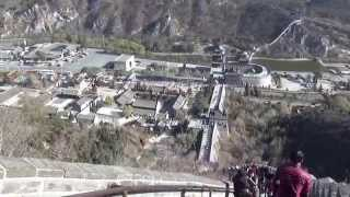 preview picture of video 'Great Wall of China 万里长城 in Beijing View From #8 Tower'