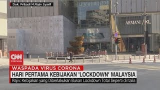 Live streaming 24 jam: https://www.cnnindonesia.com/tv  Kuala Lumpur relatif lengang, pada hari pertama pemberlakukan pembatasan pergerakan warga di Malaysia. Meski dibatasi, warga masih diperbolehkan keluar rumah namun dilarang bepergian keluar negeri. Melalui sambungan Skype kita terhubung dengan ketua Persatuan Pelajar Indonesia di Malaysia, Muhammad Rajiv Syarif yang saat ini berada di Kuala Lumpur.  Ikuti berita terbaru di tahun 2020 dengan kemasan internasional berbahasa Indonesia, dan jangan ketinggalan breaking news dengan berita terakhir dan live report CNN Indonesia di https://www.cnnindonesia.com/tv dan channel CNN Indonesia di Transvision.    CNN Indonesia tergabung dalam grup Transmedia. Dalam Transmedia, tergabung juga Trans TV, Trans7, Detikcom, Transvision, CNN Indonesia.com dan CNBC Indonesia.   Follow & Mention Twitter kami: @myTranstweet @cnniddaily @cnnidconnected  @cnnidinsight  @cnnindonesia   Like & Follow Facebook: CNN Indonesia  Follow IG:  cnnindonesiatv