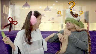 Phở Đặc Biệt bị Ngọc Thảo lừa với màn thử Dưa Leo bá đạo | Hoàng Yến Chibi & Khánh Zhou Zhou