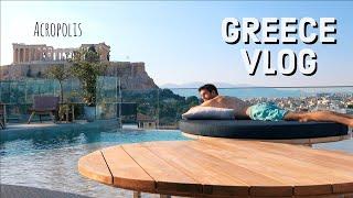 GREECE TRAVEL VLOG: Exploring Athens   KharmaMedic