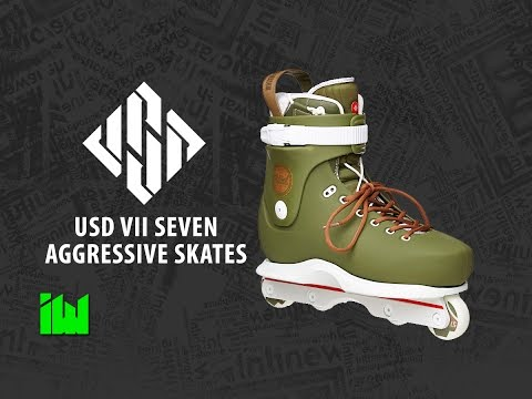 USD VII Team Aggressive Inline Skates Review