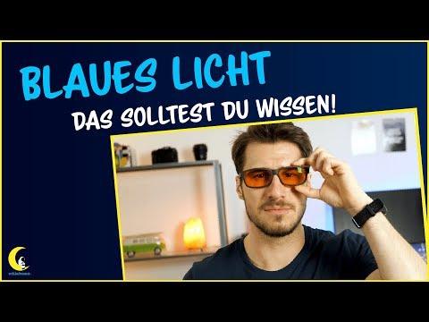 Blaues Licht ist schädlich für die Augen und den Schlaf | Blaulichtfilter Brille sinnvoll?