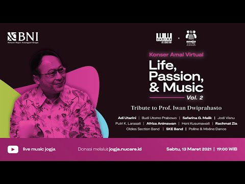 Konser Amal Virtual (House Concert)