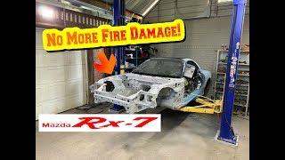 Rebuilding A Wrecked 1993 V8 Mazda RX7 FD [part 7]