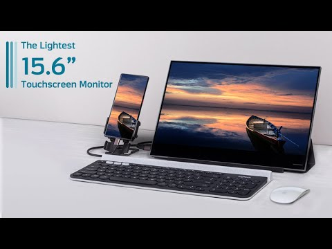 """AirTab- The Lightest 15.6"""" Touchscreen Monitor-GadgetAny"""