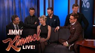 "<b>Mark Ruffalo </b>on His ""ManCanceling"" Avengers Outfit"