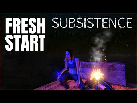 DAY ONE BUILDING BEGINS | Subsistence | Let's Play Gameplay | S6 01
