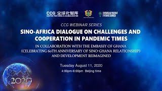Sino-Africa dialogue on challenges and cooperation in pandemic times