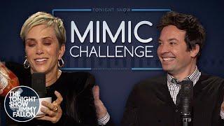 Mimic Challenge with Kristen Wiig
