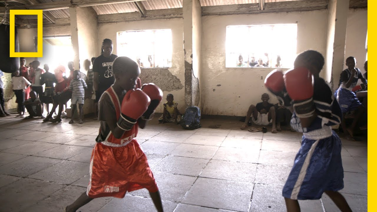 Pro Boxer Inspires Girls to Fight for Their Futures | National Geographic thumbnail
