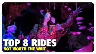 TOP 8 Walt Disney World Rides NOT Worth the Wait | Best and Worst | 01/24/18
