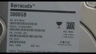 3 TB+ Hard Drives + GPT Information