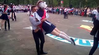 Последний звонок и вальс 11 Б гимназия 7 им.Воронцова..г.Воронеж.