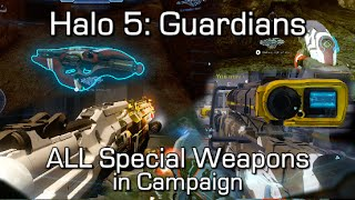 Halo 5 - 100% Special Weapons (Weapon Variants) Locations Guide in Campaign