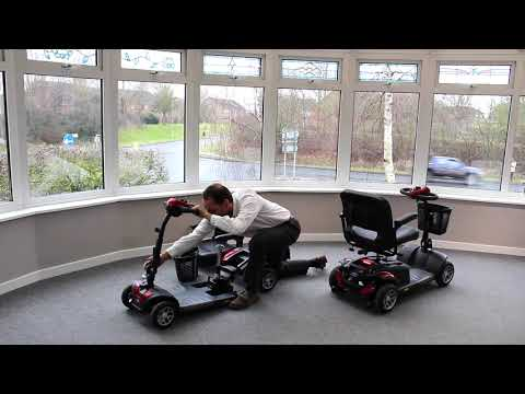 TGA: The Zest and Zest Plus car boot mobility scooters (version 2) YouTube video thumbnail