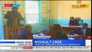 Case on principal assault underway in a court in Nakuru