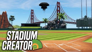Stadium Creator Gameplay in MLB The Show 21