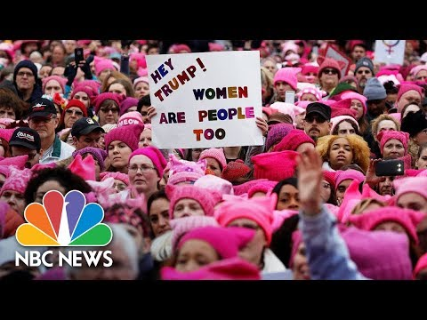 Women's March Rallies From Around The U.S. | NBC News