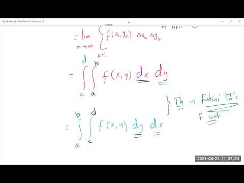 15.1 Double and Iterayed Integrals over Rectangles
