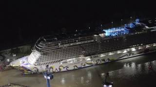 Norwegian Encore: Float Out