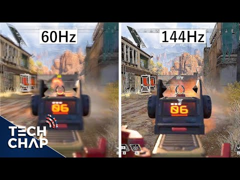 60hz vs 144hz vs 240hz - The TRUTH about High Refresh Monitors! | The Tech Chap