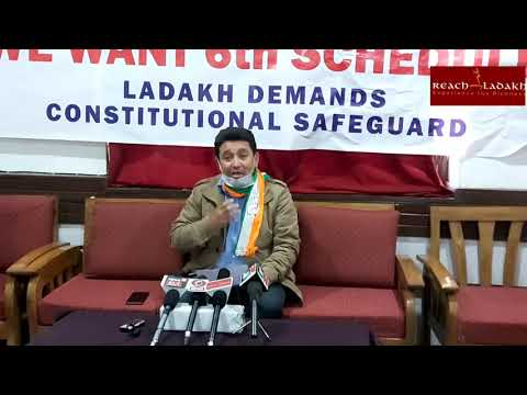 Congress party opposes Real Estate Act in Ladakh