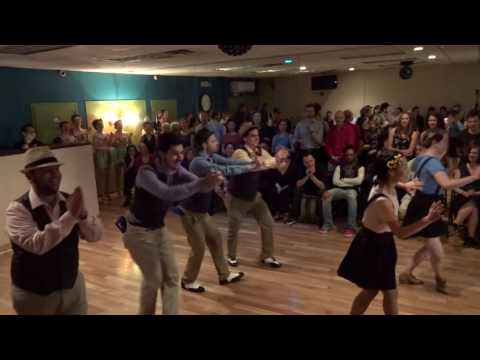 Swing Performance Class performing at YSBD...! Spring 2016 Bash dane party. This routine was choreographed by Stephanie Shapiro.