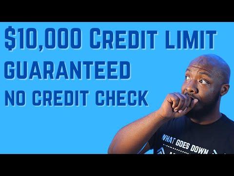 Increase Credit Score Fast | $10,000 Credit Limit Guaranteed | No Credit Check Credit Card