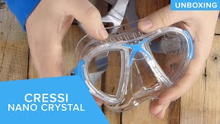 Cressi Nano Crystal Mask   Unboxing
