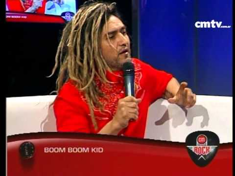 Boom Boom Kid video Entrevista CM Rock - Nuevo disco - Agosto 2014