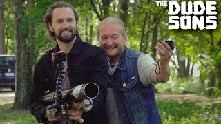 Darts Cannon Challenge! - The Dudesons