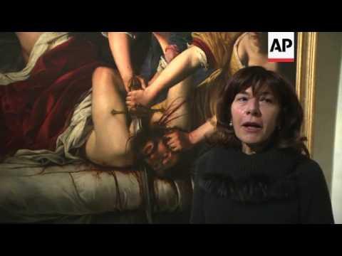 Artemisia Gentileschi exhibition opens in Rome