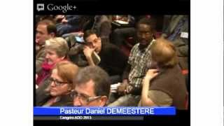 Congrès 2013 - Reconnaissance pastorale