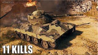 T71 DA тащит БОЙ 🌟 11 ФРАГОВ 🌟 World of Tanks лучший бой на Т71 ДА лт 7 уровня
