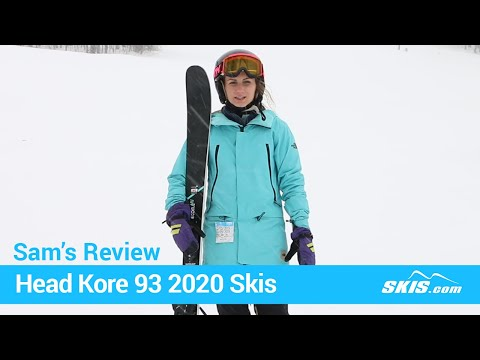 Video: Head Kore 93 W Skis 2020 17 40