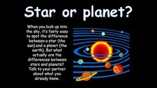 What is the difference between Star and Planet