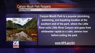 Canyon Mouth Park Reopens