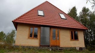 Екологічно-чистий будинок з саману будують на Житомирщині - Житомир.info