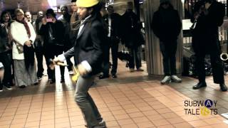 ST Presents: Brow Rice Family Performing In The Subway Station