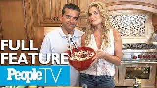 Buddy Valastro & Wife Lisa Cook Eggplant Parm & Bananas Foster, Tour Their Home & Kitchen | PeopleTV