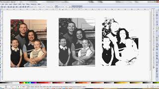 Inkscape - Convert Photograph to SVG